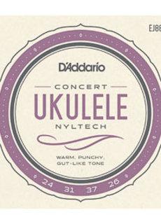 D'Addario D'Addario EJ88C Concerto Nyltech Ukulele Strings