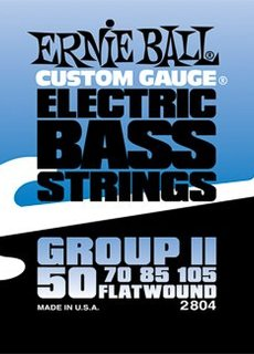 Ernie Ball Ernie Ball 2804 Flatwound Bass Strings
