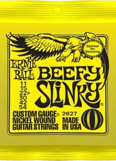 Ernie Ball Ernie Ball 2627 Beefy Slinky 11-52