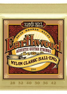 Ernie Ball Ernie Ball Nylon Classic Ball End 2069