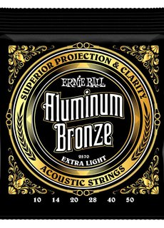 Ernie Ball Ernie Ball Aluminium Bronze Extra Light 10-50 2570