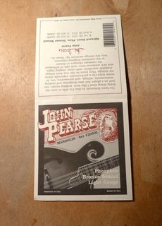 John Pearse John Pearse 2050L Phosphor Bronze Mandolin Light Gauge