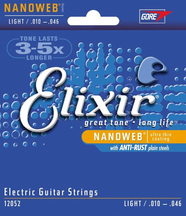 Elixir Elixir Nanoweb 10-46 Electric Guitar Strings 12052
