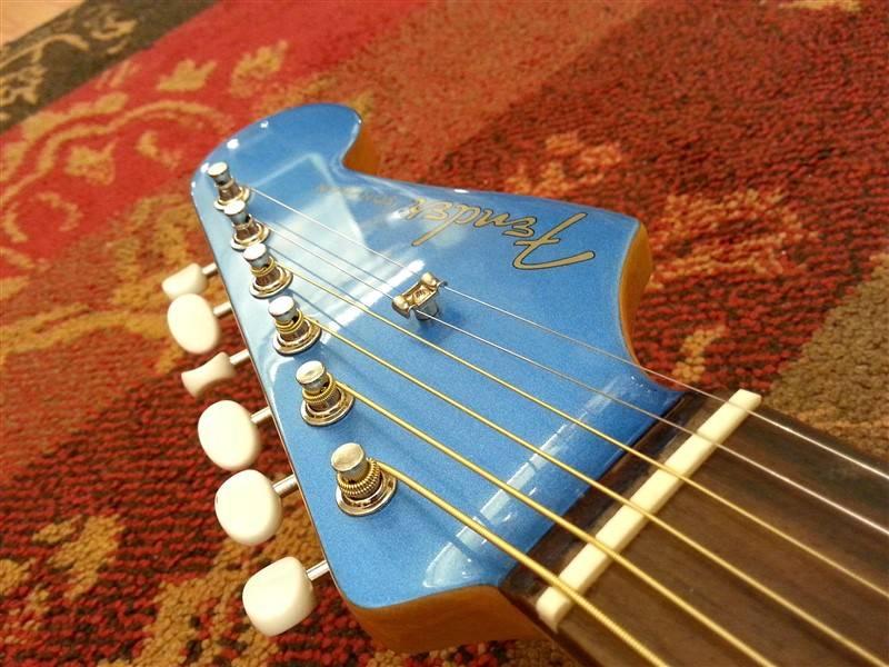 Fender Fender Sonoran SCE Lake Placid Blue w/Fishman