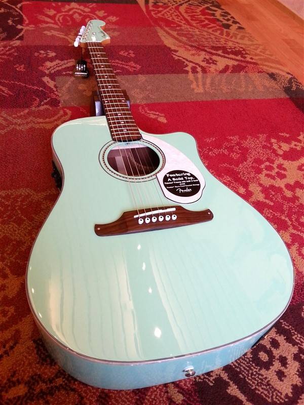 Fender Fender Sonoran SCE Seafoam Green w/Fishman