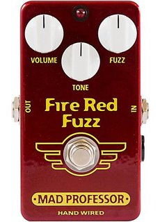 Mad Professor Mad Professor Fire Red Fuzz Handwired