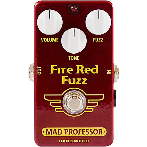 Mad Professor Mad Professor Fire Red Fuzz Handwired