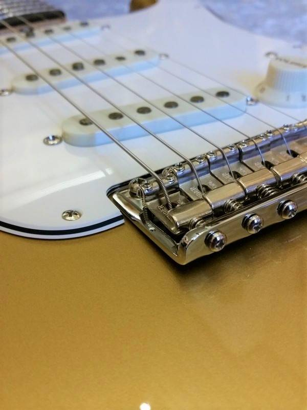 Fender Custom Shop 1965 Stratocaster NOS Aztec Gold