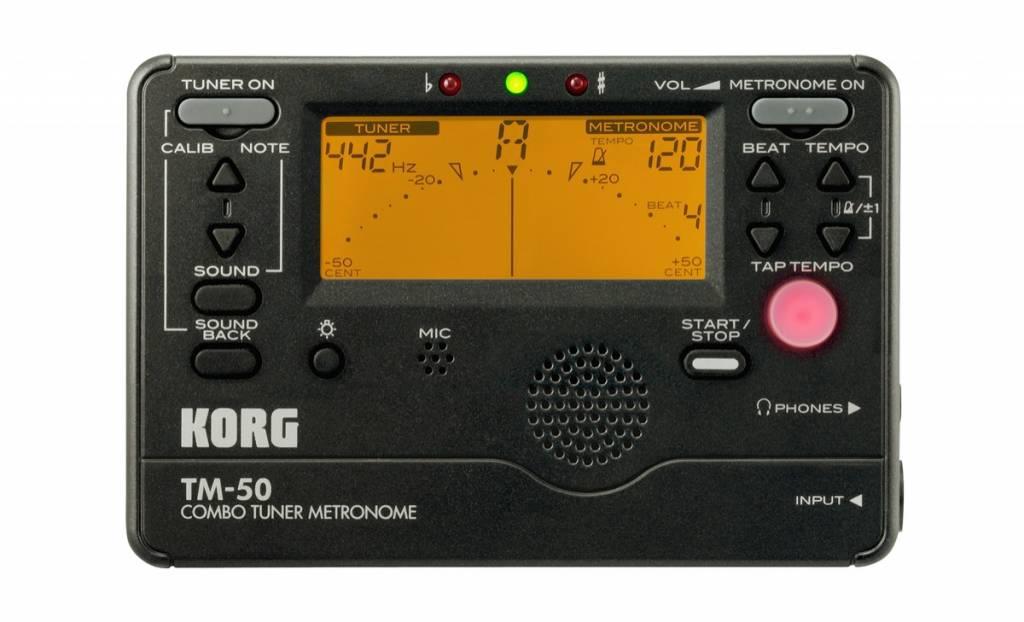 Korg Korg Combo Tuner Metronome TM-50
