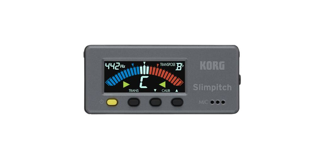 Korg Korg Slimpitch Chromatic Tuner + Contact Microphone