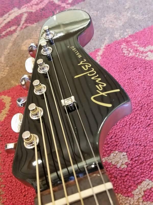Fender Fender Malibu Player JTB Jetty Black