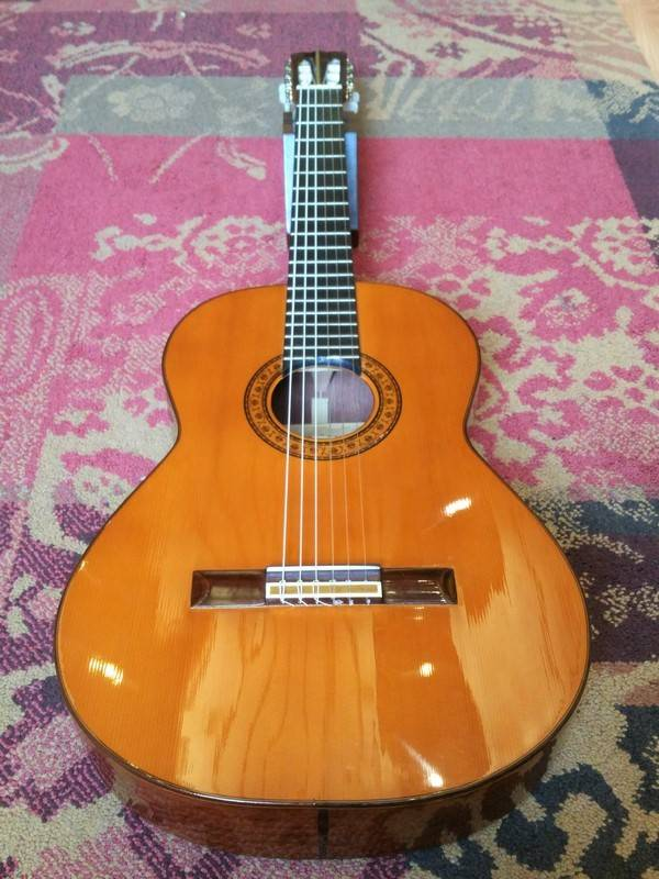 M. G. Contreras Contreras All Solid Spanish Luthier Guitar - Pre-loved