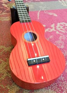 Mahalo Mahalo Soprano Ukulele MR1 Red