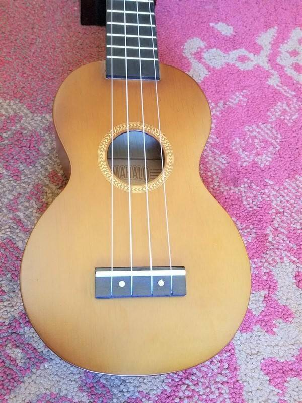 Mahalo Mahalo Soprano Ukulele MR1 Transparent Brown