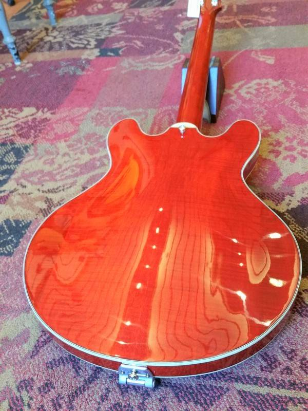 Eastman Eastman T486B RD Thinline Cherry Red w/Bigsby