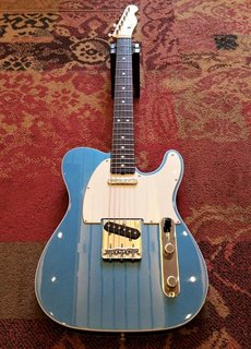 Fender Fender American Original '60s Tele Lake Placid Blue
