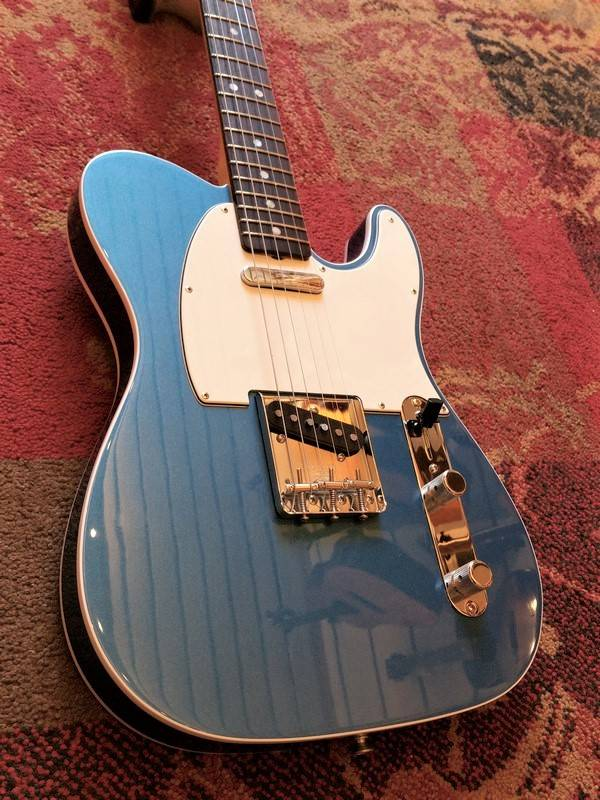 Fender Fender American Original '60s Tele Lake Placid Blue