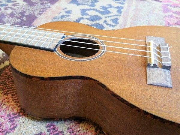 Leho Leho Concerto Ukulele C-MM Arched Back