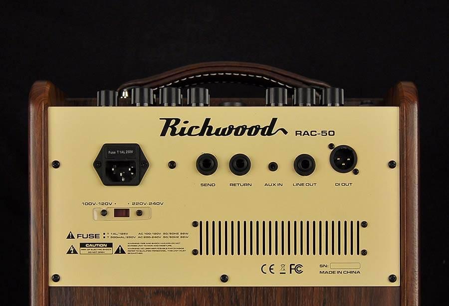Richwood Richwood RAC-50 50W Acoustic Amp