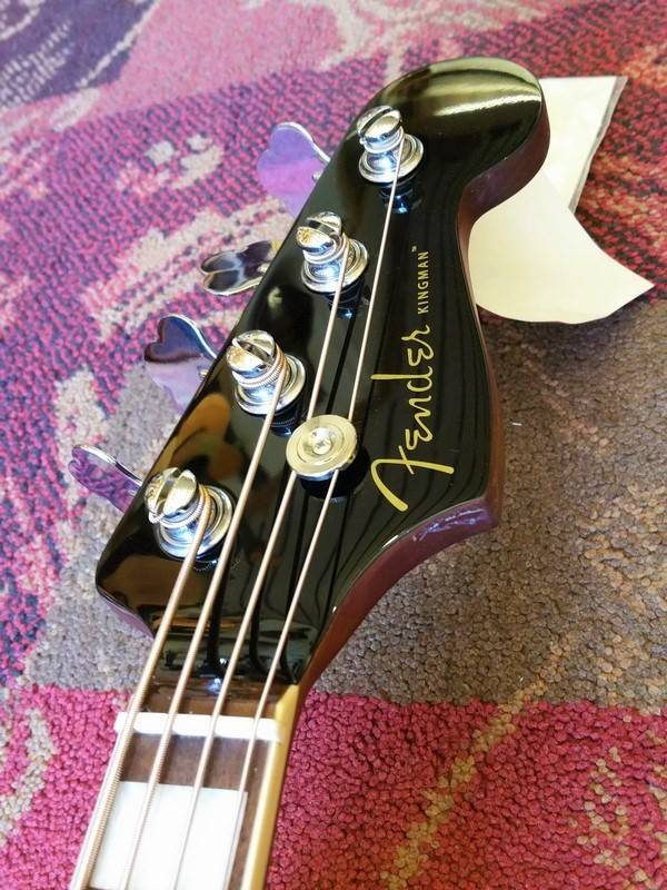 Fender Fender Kingman Bass V2 Jetty Black