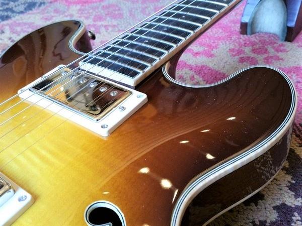 Eastman Eastman T184MX-GB Goldburst Thinline