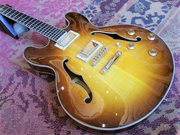 Eastman Eastman T186MX-GB Goldburst Thinline