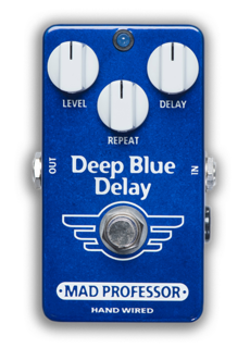 Mad Professor Mad Professor Deep Blue Delay Handwired