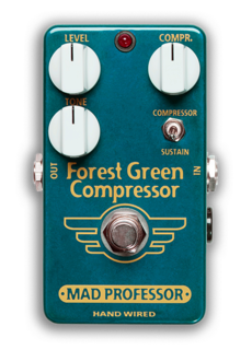 Mad Professor Mad Professor Forest Green Compressor Handwired