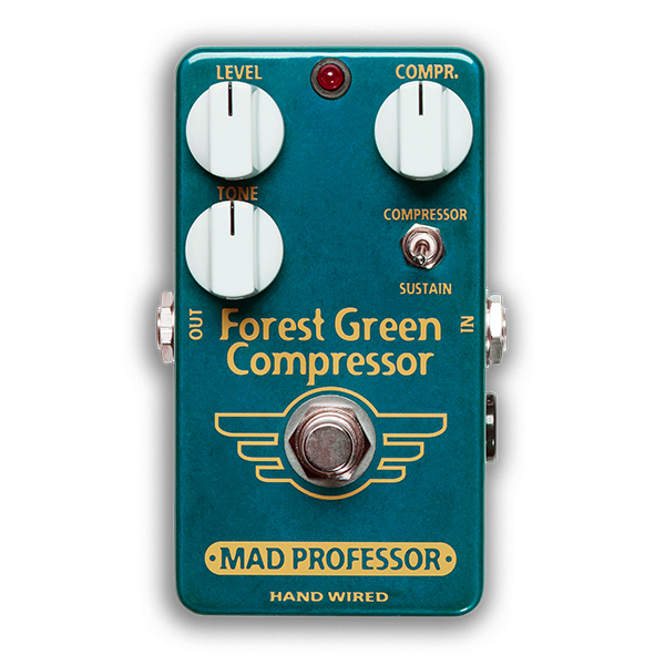 Mad Professor Mad Professor Forest Green Compressor Handwired