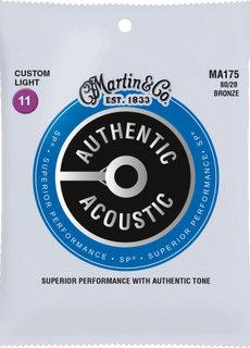 C. F. Martin & Co. Martin Authentic Acoustic SP MA175 Custom Light