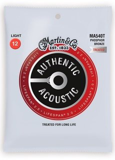 C. F. Martin & Co. Martin Authentic Acoustic SP 2.0 Lifespan MA540T Light