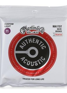 Martin Martin Authentic Acoustic SP 2.0 Lifespan MA175T Custom Light