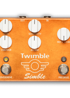 Mad Professor Mad professor Twimble Simble Dual Overdrive/Predrive