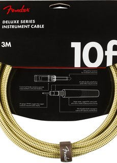 Fender Fender Custom Shop Cable Tweed 10 FT R\R