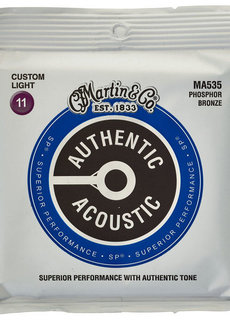 Martin Martin Authentic Acoustic SP MA535 Custom Light 11-52  PhosphorBronze