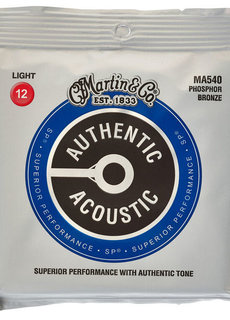 Martin Martin Authentic Acoustic SP MA540 Light 12-54 Phosphor Bronze