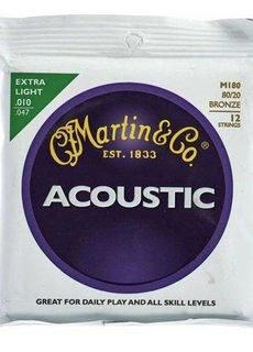 Martin Martin Acoustic SP M180 12-String Extra Light 10-47 80\20 Bronze