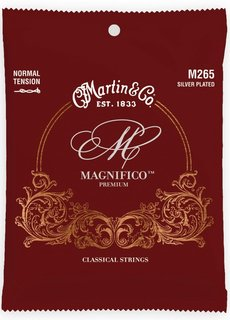 Martin Martin Magnifico Premium Classical Strings M265 Normal Tension Silver Plated