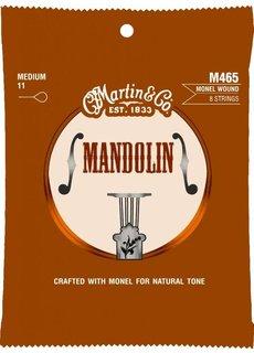 Martin Martin Mandolin M465 8-String Medium 11-40 Monel Wound