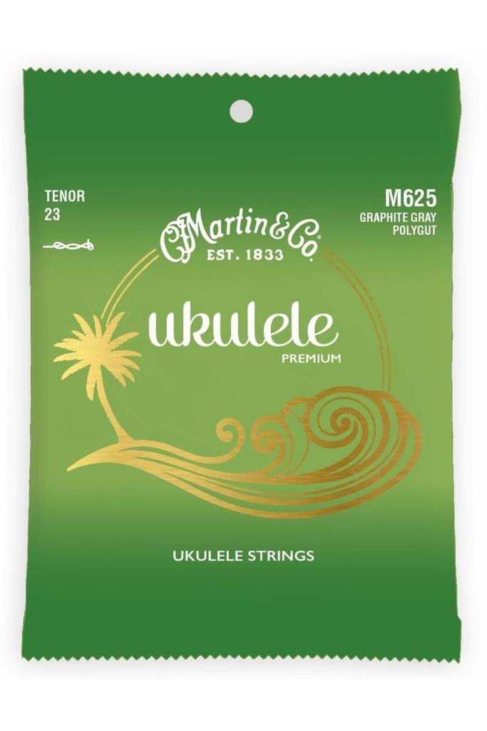 Martin Martin Ukelele Premium M625 Tenor 23 Graphite Gray Polygut