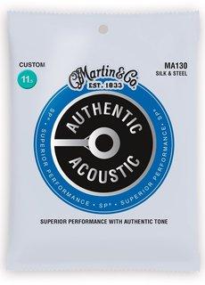 Martin Martin Authentic Acoustic SP MA130 Custom  11,5-47 Silk & Steel