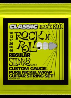 Ernie Ball Ernie Ball 2251 Regular Slinky Rock & Roll Pure Nickel Wrap