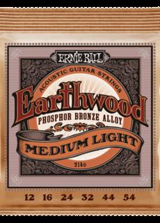 Ernie Ball Ernie Ball 2146 Earthwood Medim Light 12-54 Phosphor Bronze