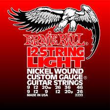 Ernie Ball Ernie Ball 2233 12 String Light 0.09-46