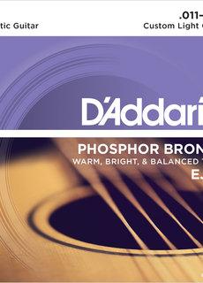 D'Addario D'addario EJ26 Phosphor Bronze Custom Light Set