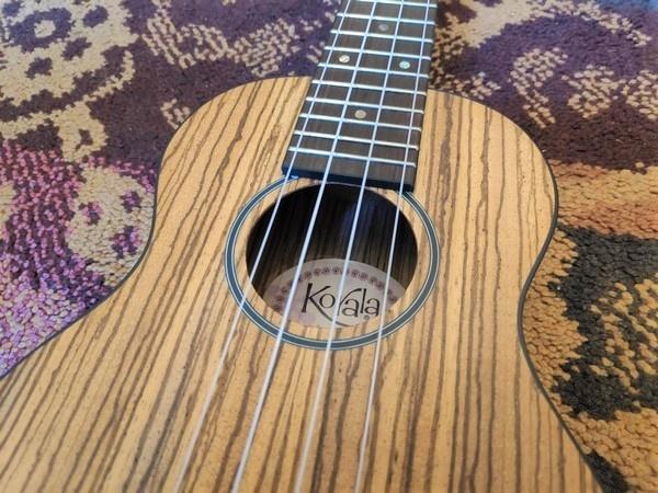Korala Korala Soprano Ukulele Zebrano UKS-510