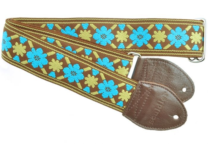 Souldier Straps Souldier Strap Tulip Turquoise/Gold