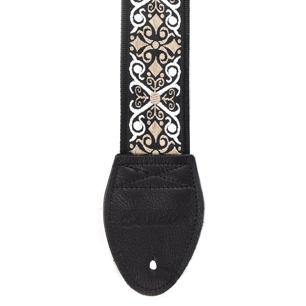 Souldier Straps Souldier Strap Constantine Black/White/Taupe