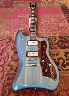 Guild Guild T-Bird ST P90 Pelham Blue