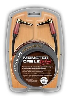 Monster Cable Monster Cable Acoustic Pro 12ft S/A straight/angled